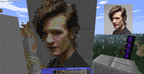 sadmanwithabox:  world-of-minecraft:  Submitted by xalts This is amazing!   this makes me love minecraft even more  Okay now. I don't play minecraft, but I know what it is. THIS looks like it was very tedious, and maybe even challenging! Kudos.