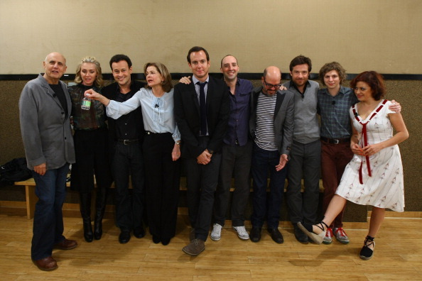 thecomicscomic:  This is what the cast of Arrested Development looks like in 2011. What will they look like when they begin shooting new episodes in summer 2012? Something to think about as you watch video of Mitchell Hurwitz describing the gameplan. Word is their comeback is possible at Showtime, where their current president is David Nevins, former president of Imagine TV and executive producer on…take a deep breath now…Arrested Development.   David Nevins, are souls are in your hands.