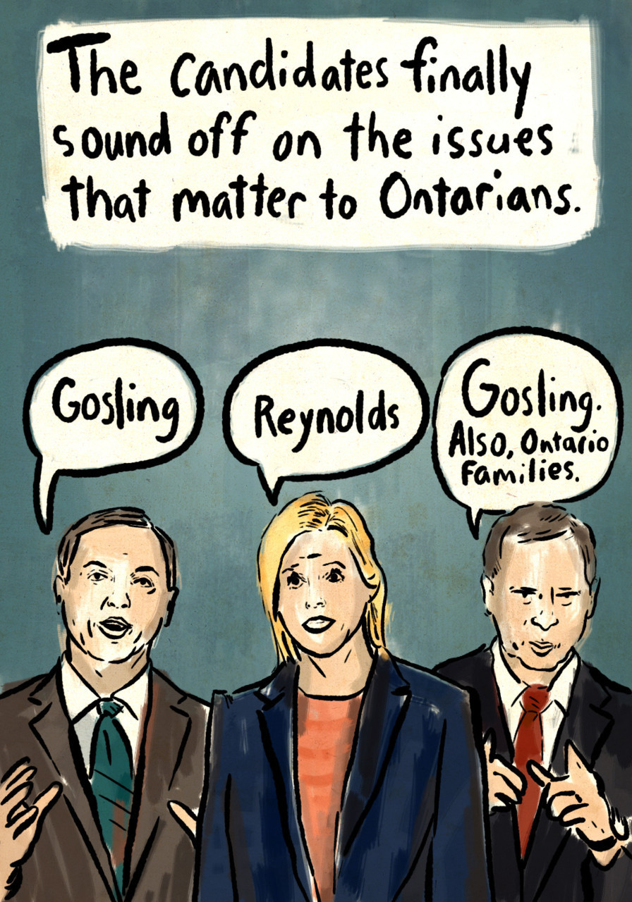 The Week That Wasn't: Ontario Election Issues Related:More from our Ontario election page