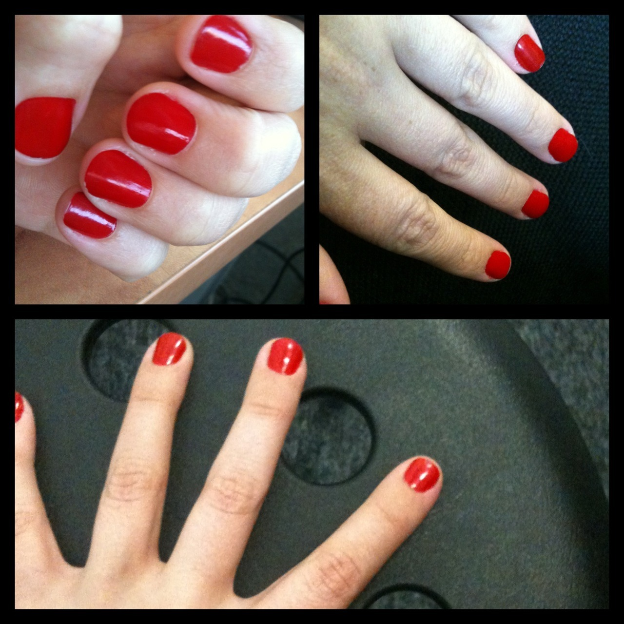 Found the perfect red *sigh*OPI - Big Apple Red.