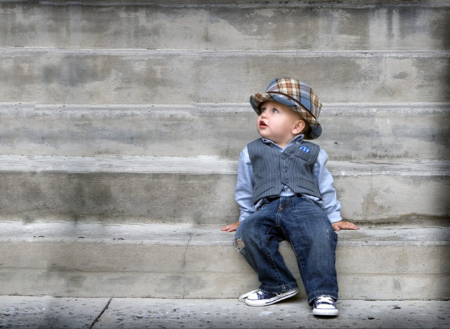 The Zack Fedora for the sartorially inclined toddler.