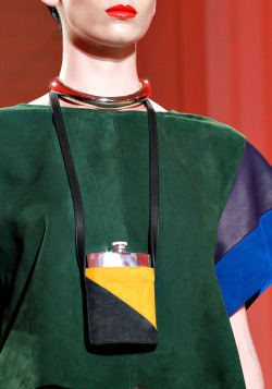 vogue:  DETAIL: Hermès Spring 2012