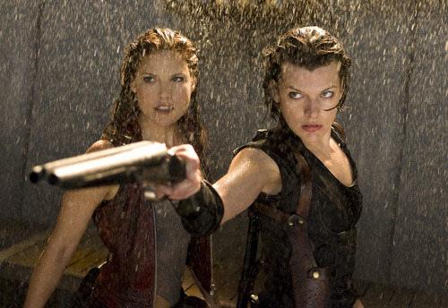 "Paul W.S. Anderson talks Resident Evil 5 Director Paul W.S. Anderson starts shooting Resident Evil: Retribution in a week's time so he had plenty to say about the project during an interview with Collider.   ""We're bringing in the Las Plagas parasite, which I love because it allows the undead to basically run around, ride motorbikes and shoot machine guns, which no one's done before,"" he said.Anderson also explained how one action sequence would be lifted from the game, albeit with a change of vehicle. [FOR THE FULL STORY, CLICK ON THE IMAGE OR FOLLOW THIS LINK]"