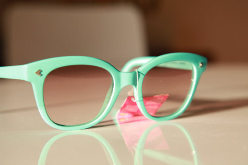 Vintage Wayfarer Sunglasses Turquoise by gpnexxus on Etsy