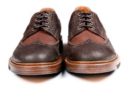 "Forest of Ginkgo (F.O.G.) - Derby Brogues ""Here is a look at a very impressive and quite refreshing Italian footwear company in their first season by the name of Forest of Gingko (F.O.G.). While there are a plethora of footwear companies with goals of recreating and producing some of the finest in classic and military inspired footwear, with hints modern modifications, Forest of Gingko focuses purely on detail and exploring new heights in quality control. F.O.G. uses only the skin of fallen animals, as opposed to animal slaughter, to process their double stitched soles. In addition, no chemicals are added to their 92% biodegradable soles. These steps are clear reflections of the brand's mission to create footwear with no compromise in production whatsoever. It is not hard to tell that the favorite would be the Francesina Alta Military inspired boot, although the derby besso, derby brogue, derby mid, and derby alta are all undeniable styles in this collection."""