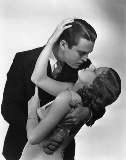 classichollywoodforever:  Chester Morris & Jean Harlow for Red-Headed Women