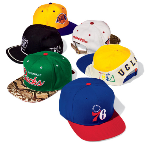 Snap-Back Hats Just Snapped Back Adjustable hats haven't been this prevalent since N.W.A terrified the suburbs in the early '90s. But now, thanks to hip-hop kings like Jay-Z and Theophilus London, they're making a comeback. Shown here: six of our favorites.