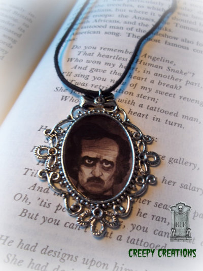 creepycreations:  Edgar Allan Poe last day to get it $11.99