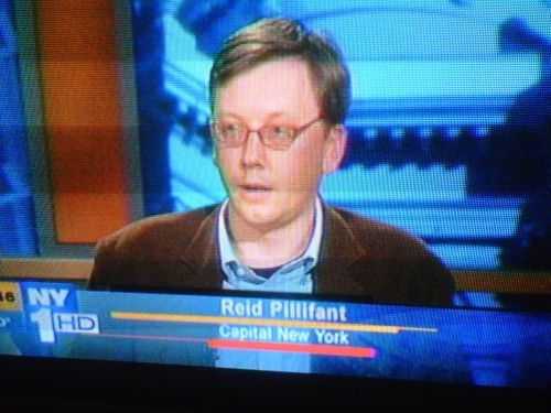 "Did you miss Capital New York's Reid Pillifant on NY1's ""Inside City Hall"" Reporters' Roundtable? You can watch it here. Reid and his colleagues discuss Mayor Bloomberg coattails in the 2012 mayoral race and the Chris Christie ""will he or won't he?"" game."