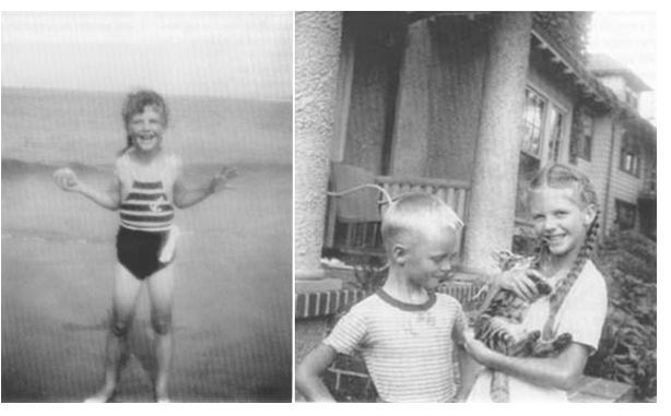 flavorpill:  Lil' Sylvia Plath and other baby pictures of famous authors