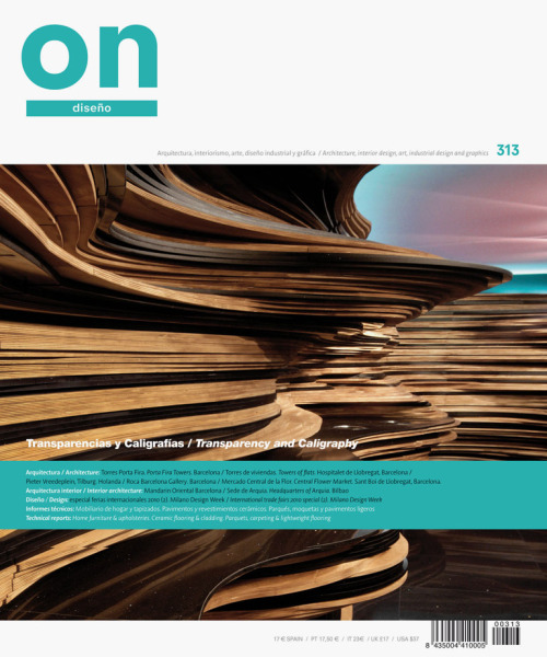 ON Diseño is a leading architecture and design magazine published in Spain.The ON website is an amazing source of projects from Spain.Love-Spain