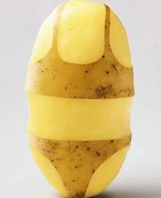 Bikini potato. :D lol