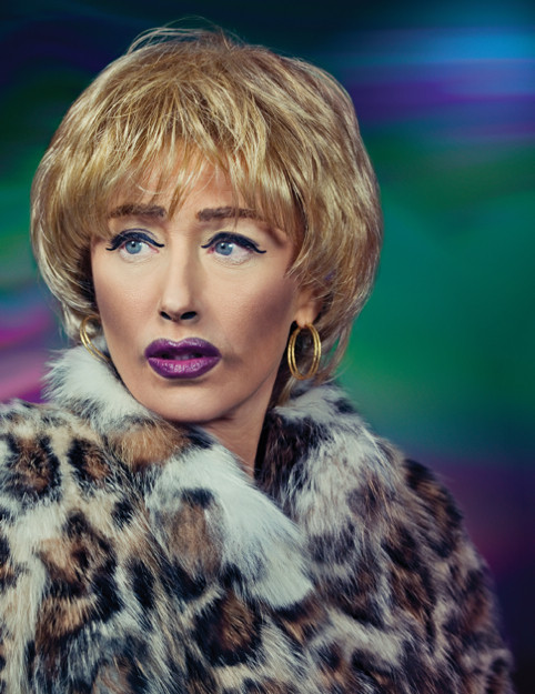 Why is Cindy Sherman, a darling of the contemporary art world and a searing social critic, shilling for M·A·C Cosmetics?