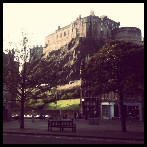 Tourist. Edinburgh Castle