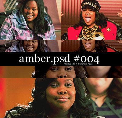 amber riley psd #004 | download @ box.net | please like or reblog if you download ♥