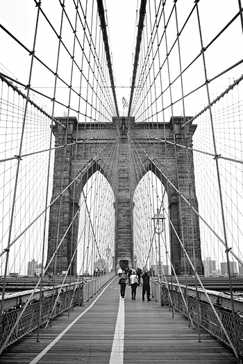"""Brooklyn Bridge"" photographed by Petri Jääskeläinen"