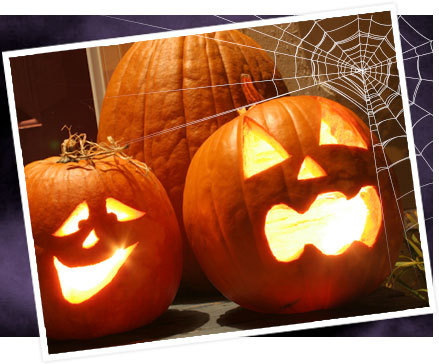 (via Halloween Pumpkin Carving Templates | eHow.com#carvingPatterns)
