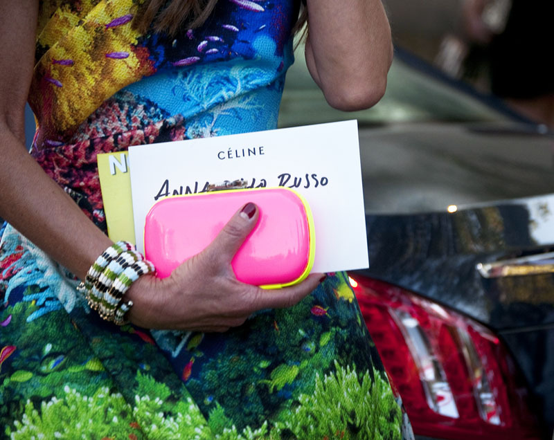 Catch up on all of the latest street style photos from Paris, shot exclusively for Marie Claire by Guerre. Click here to see them all!