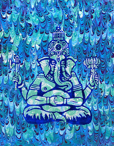 november-:  Ganesh Ebru (by Lucid Optic Lab)