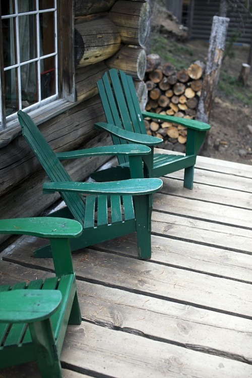 I'm an even bigger sucker for Adirondack chairs…