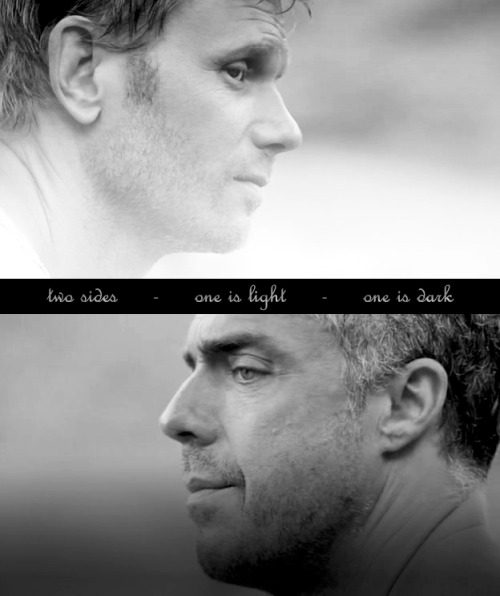 LOST. Mark Pellegrino. Titus Welliver. my graphic.