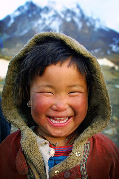 smile in mountain by phitar on Flickr.