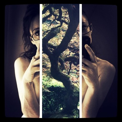Weak branches, strong roots #hipster #tagaholic #iphoneography #girl (Taken with instagram)