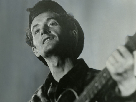 nprmusic:  Note Of Hope: A Celebration of Woody Guthrie features 13 artists working with Guthrie's lyrics. It's the sixth album based entirely on writings that came to light after his death.
