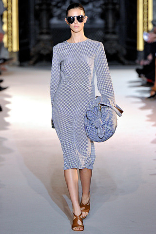 My favorite look from Stella McCartney (worn by Ruby Aldridge) — Spring 2012 — Ready-to-Wear