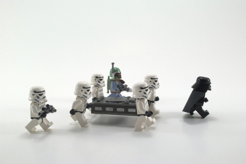 "orplego:  058/365 on Flickr. TK-678: ""Han Solo needs to go on a diet…sheesh he is heavy."""