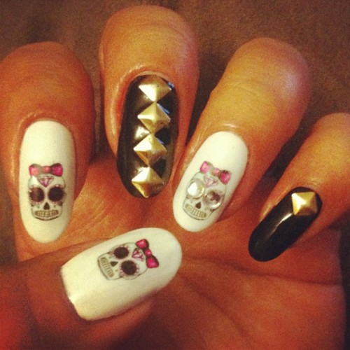 Skulls & Studs preview…got some new water decals ;) proper pic comin soon (Taken with instagram)