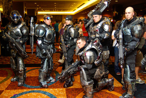 360style:  GEARS OF WAR COSPLAY SPOTLIGHT : Nightmare ArmorFollow 360style here on Tumblr for more awesome Xbox related upates.