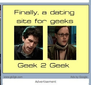 thosepaperscut:  This advertisement came up on my computer today. Naturally, it came up when I was watching a Vlogbrother video. …I'm probably gonna click on it.