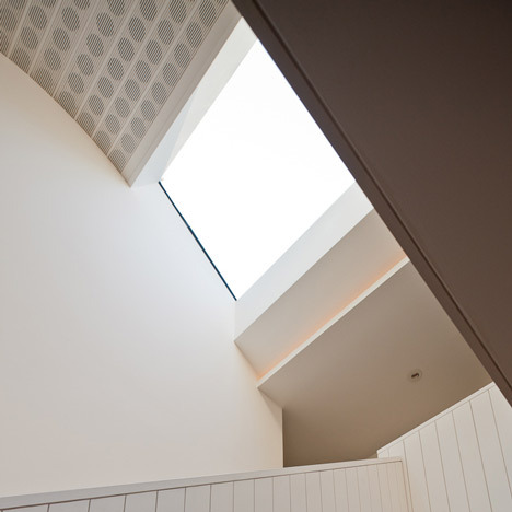 flint house | stairwell ~ nick wilson architects