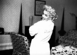 Marilyn Monroe at the Ambassador Hotel, New York by Ed Feingersh 1955
