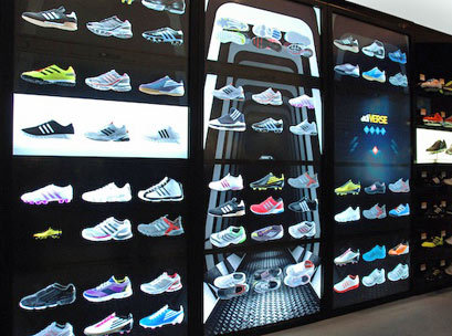 Check out the latest Adidas Virtual Footwear Wall created by UK branding and  interactive design agency Start JudgeGill. Bringing digital media, interactivity, and product presentation to offer extraordinary and complimentary retail experiences in store. Would consumers still need face to face service in-store?  NEXT   CALL US ON +61431324899 Check Mauricio Escobar (eDigital Director) experience and recommendations on his LinkedIn profile. Connect with eDigital on Facebook Find out eDigital Sydney SEO services from Sydney SEO consultants and Sydney SEO experts. We offer SEO audits and content optimisation advice. Check out eDigital Social Media Strategy and Social Media Management services.
