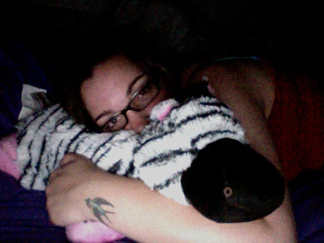 just watchin harry potter with my pillow pet who needs a name. [ideas?] Hermann Zapfino :)