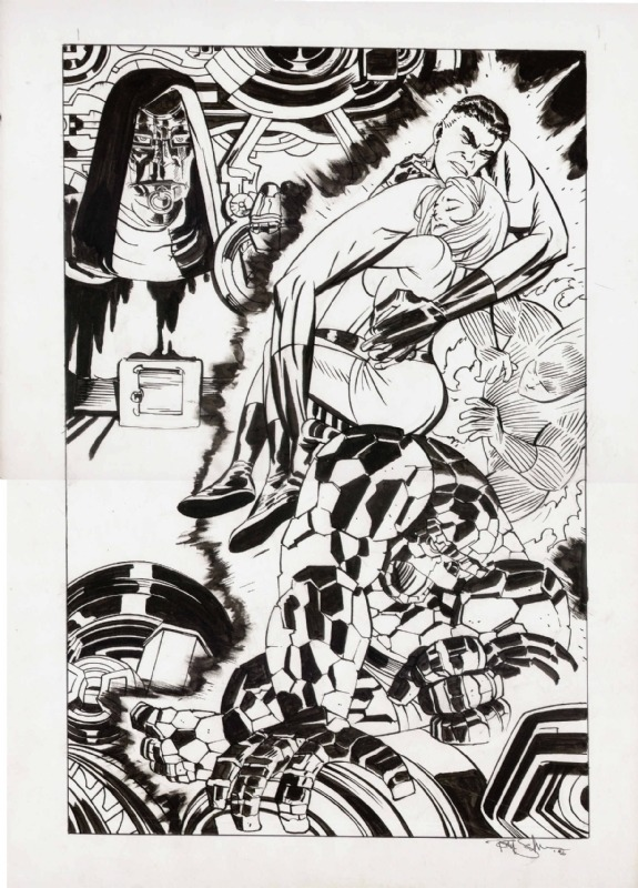 The Fantastic Four by Tony Salmons