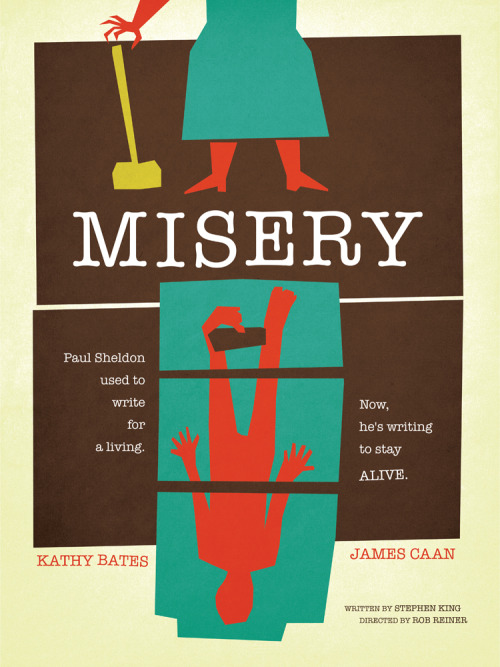 minimalmovieposters:  Misery by Wonderbros