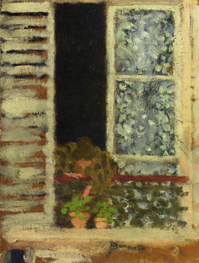 cavetocanvas:  Woman at the Window - Pierre Bonnard, c. 1895