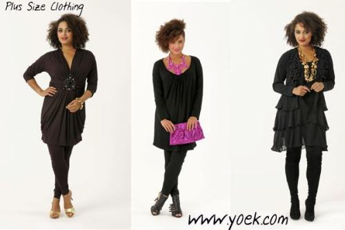 plusmodelmagazine:  We are so in love with Yoek right now CurvyDolls!  Something new! - How fab! — Time to shop!  -Patty-