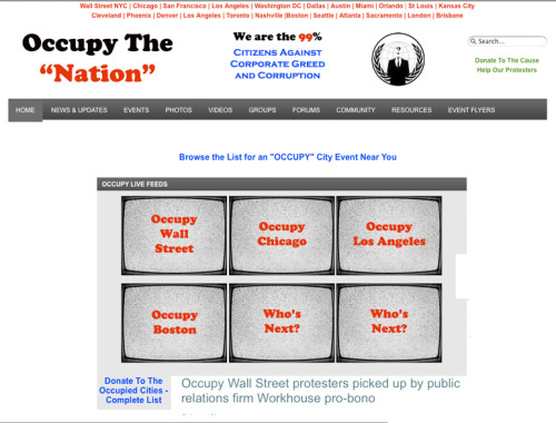 leftish:  Find your city on this site: occupythenation.com