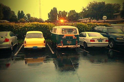 Parked by Amber's Notchback tonight.