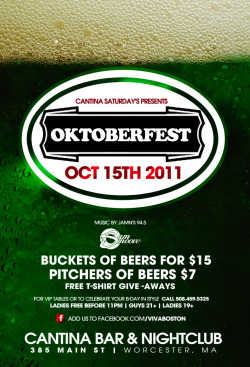 deitydesignz:  Octoberfest flyer design