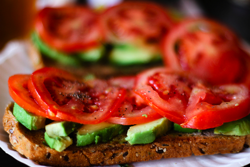 3rdavenue:  everything with pepper, bread, tomatoes and avocados are the perfect combination.