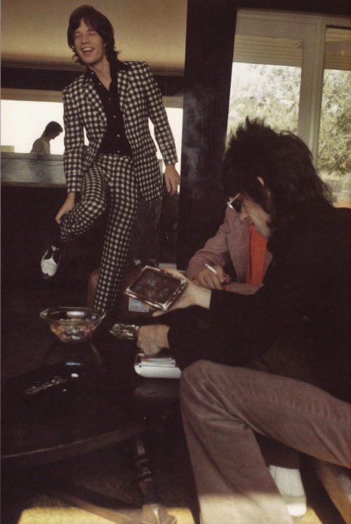 moonlightxmile:  The Glimmer Twins at the Oriole House, 1969