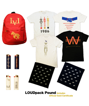 LOUDpack POUND from @NEAKO's clothing line at www.lvlmerchants.com