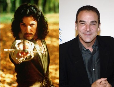 ispyafamousface:  My name is Inigo Montoya. You killed my father. Prepare to die. Of shock. When you realize that Mandy Patinkin—whom you may recognize as Agent Gideon in Criminal Minds or Saul Berenson in the hit series Homeland—portrayed the lovable vengeance-seeking Spaniard Inigo Montoya in The Princess Bride. Thanks, saruhhkay! Follow us on Twitter @ISpyAFamousFace!
