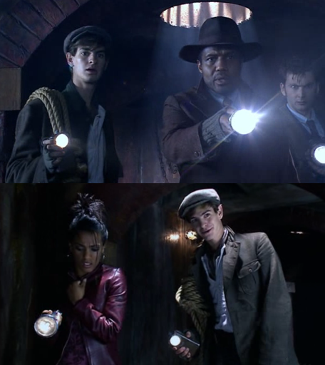 Lookie! Andrew Garfield was in Doctor Who. Didn't notice that before.