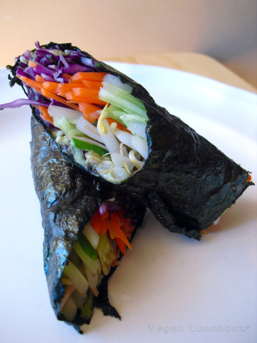 leylahur:  Raw Vegan Nori Rolls ~ mixing my passion for cooking and my passion for photography